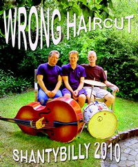 Plakat Wrong Haircut 2010