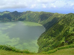 Kratersee auf Sao Miguel